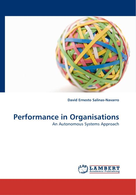 Performance in Organisations. Edition No. 1 - Product Image