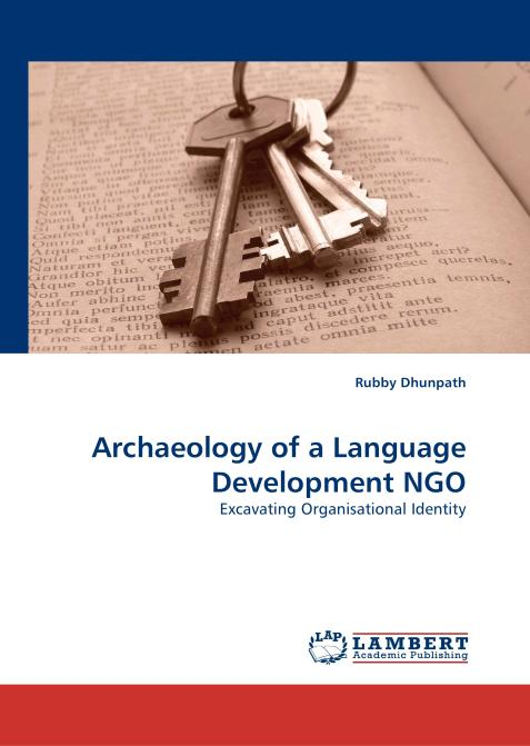 Archaeology of a Language Development NGO. Edition No. 1 - Product Image