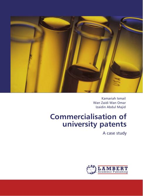Commercialisation of university patents. Edition No. 1 - Product Image