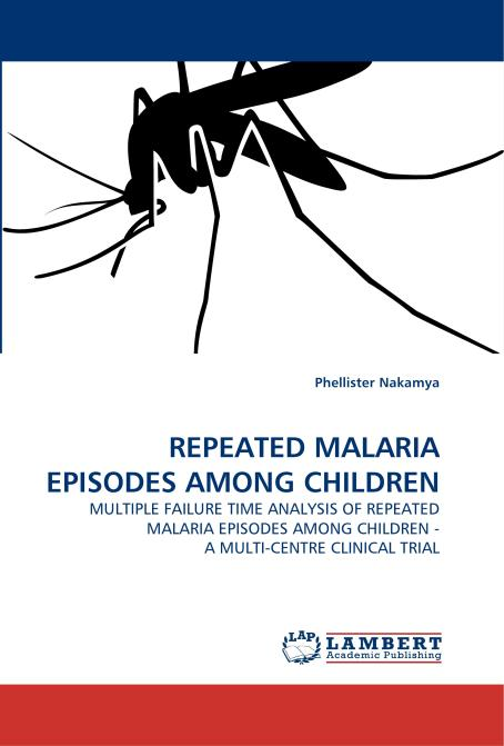 REPEATED MALARIA EPISODES AMONG CHILDREN. Edition No. 1 - Product Image