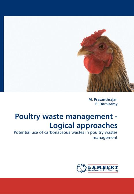 Poultry waste management - Logical approaches. Edition No. 1 - Product Image