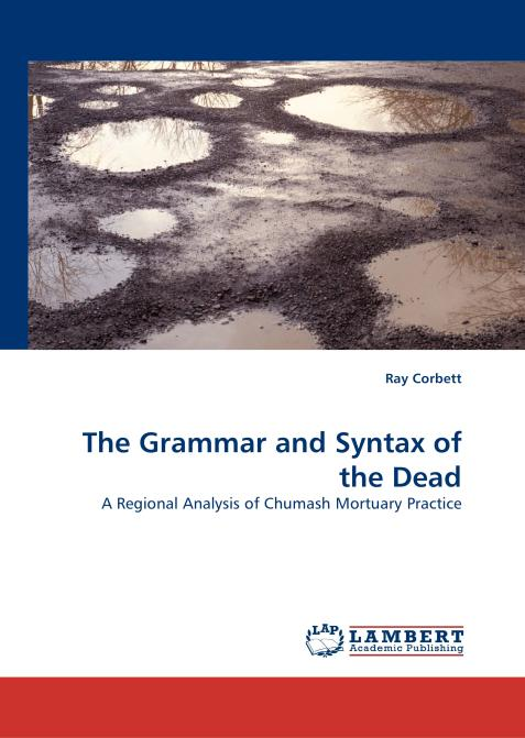 The Grammar and Syntax of the Dead. Edition No. 1 - Product Image