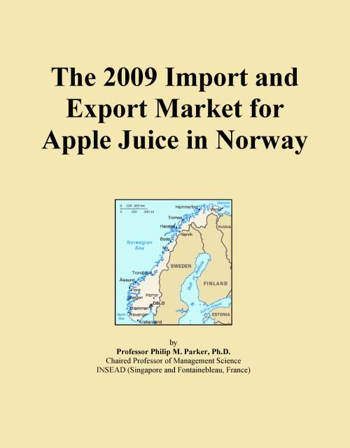 The 2009 Import and Export Market for Apple Juice in Norway - Product Image