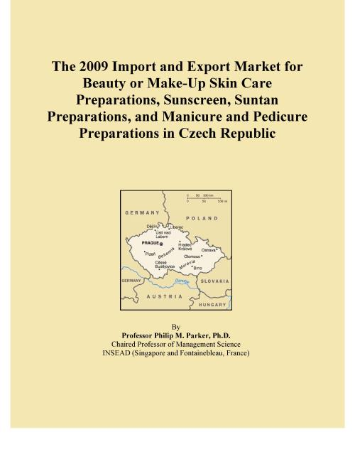 The 2009 Import and Export Market for Beauty or Make-Up Skin Care Preparations, Sunscreen, Suntan Preparations, and Manicure and Pedicure Preparations in Czech Republic - Product Image
