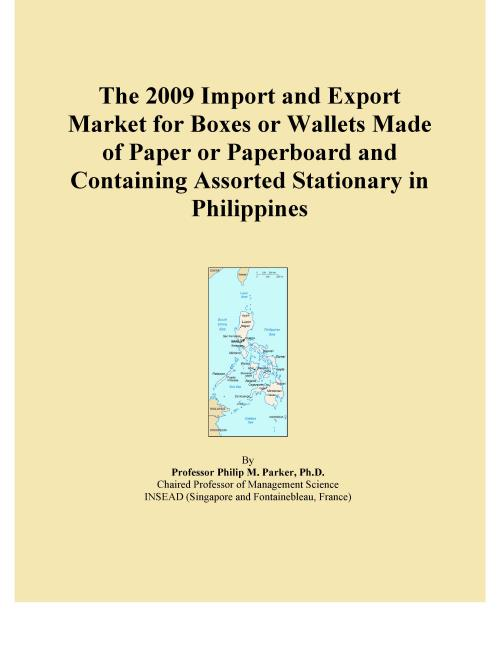 The 2009 Import and Export Market for Boxes or Wallets Made of Paper or Paperboard and Containing Assorted Stationary in Philippines - Product Image