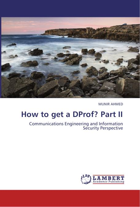 How to get a DProf? Part II. Edition No. 1 - Product Image