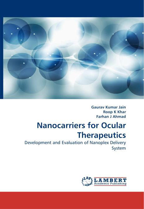 Nanocarriers for Ocular Therapeutics. Edition No. 1 - Product Image