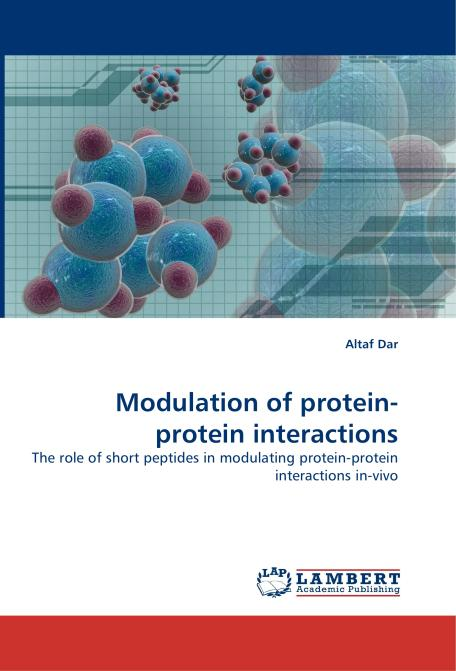 Modulation of protein-protein interactions. Edition No. 1 - Product Image