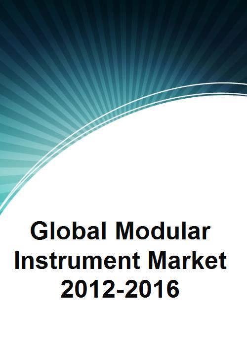 Global Modular Instrument Market 2012-2016 - Product Image