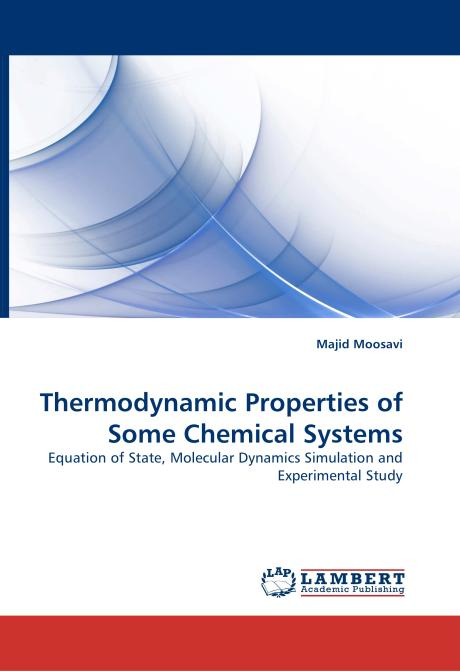 Thermodynamic Properties of Some Chemical Systems. Edition No. 1 - Product Image