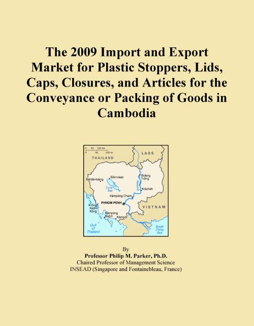 The 2009 Import and Export Market for Plastic Stoppers, Lids, Caps, Closures, and Articles for the Conveyance or Packing of Goods in Cambodia - Product Image