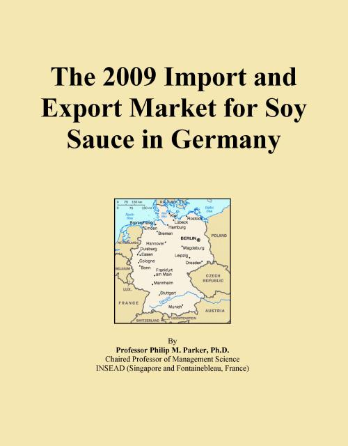 The 2009 Import and Export Market for Soy Sauce in Germany - Product Image