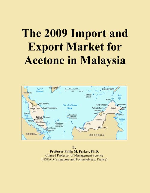 The 2009 Import and Export Market for Acetone in Malaysia - Product Image