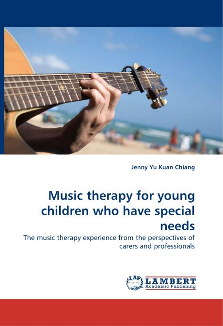 Music therapy for young children who have special needs. Edition No. 1 - Product Image