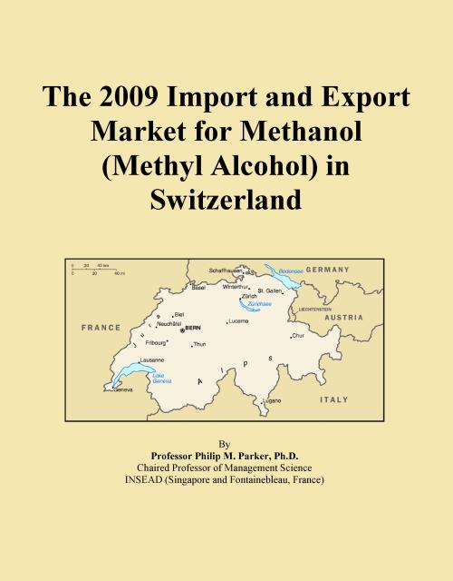 The 2009 Import and Export Market for Methanol (Methyl Alcohol) in Switzerland - Product Image