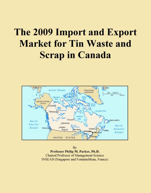 The 2009 Import and Export Market for Tin Waste and Scrap in Canada - Product Image