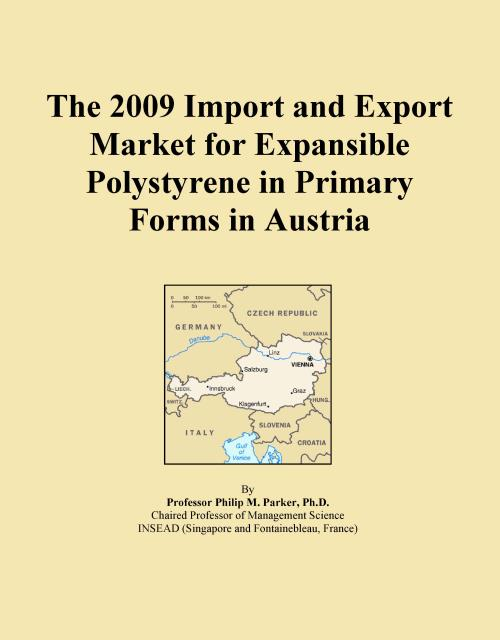The 2009 Import and Export Market for Expansible Polystyrene in Primary Forms in Austria - Product Image