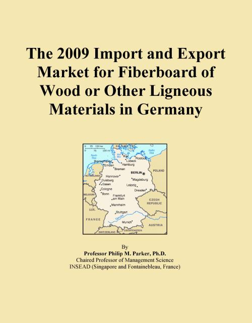 The 2009 Import and Export Market for Fiberboard of Wood or Other Ligneous Materials in Germany - Product Image