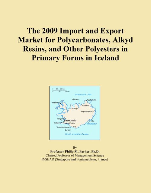 The 2009 Import and Export Market for Polycarbonates, Alkyd Resins, and Other Polyesters in Primary Forms in Iceland - Product Image