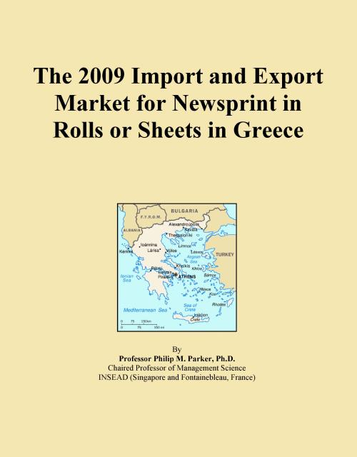 The 2009 Import and Export Market for Newsprint in Rolls or Sheets in Greece - Product Image