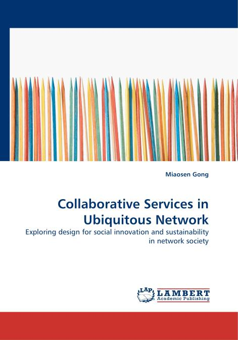 Collaborative Services in Ubiquitous Network. Edition No. 1 - Product Image