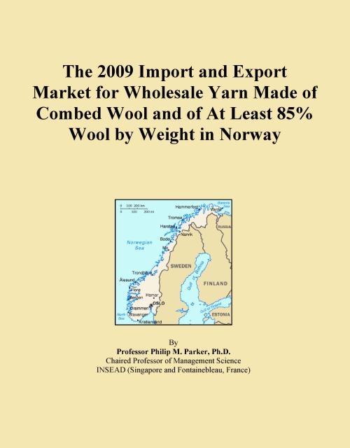 The 2009 Import and Export Market for Wholesale Yarn Made of Combed Wool and of At Least 85% Wool by Weight in Norway - Product Image