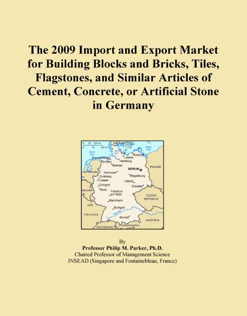 The 2009 Import and Export Market for Building Blocks and Bricks, Tiles, Flagstones, and Similar Articles of Cement, Concrete, or Artificial Stone in Germany - Product Image
