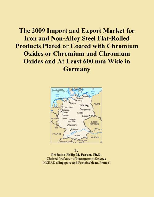 The 2009 Import and Export Market for Iron and Non-Alloy Steel Flat-Rolled Products Plated or Coated with Chromium Oxides or Chromium and Chromium Oxides and At Least 600 mm Wide in Germany - Product Image