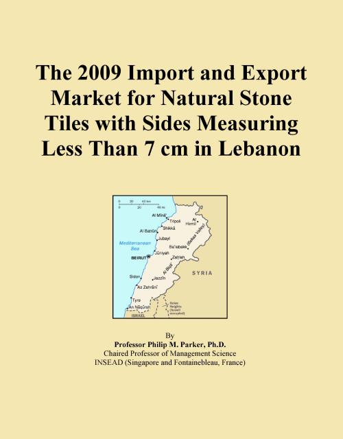 The 2009 Import and Export Market for Natural Stone Tiles with Sides Measuring Less Than 7 cm in Lebanon - Product Image