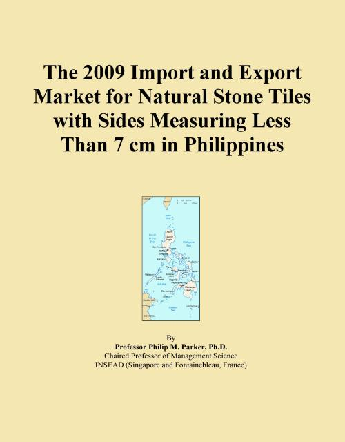 The 2009 Import and Export Market for Natural Stone Tiles with Sides Measuring Less Than 7 cm in Philippines - Product Image