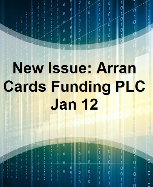 New Issue: Arran Cards Funding PLC Jan 12 - Product Image