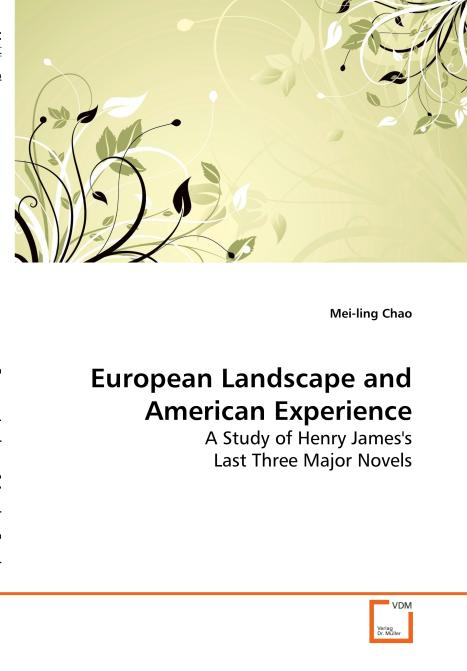 European Landscape and American Experience. Edition No. 1 - Product Image