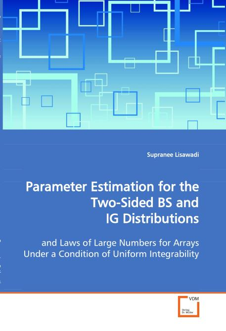 Parameter Estimation for the Two-Sided BS and IG 