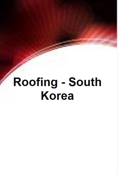 Roofing - South Korea - Product Image