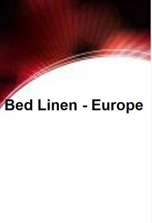Bed Linen - Europe - Product Image