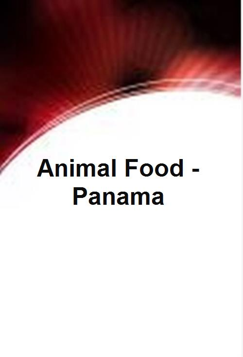 Animal Food - Panama  - Product Image