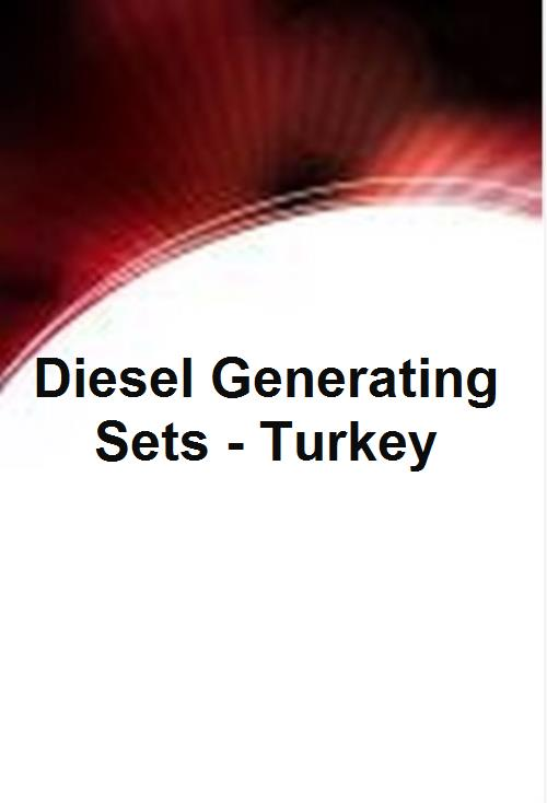 Diesel Generating Sets - Turkey - Product Image