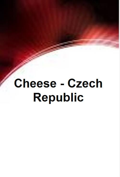 Cheese - Czech Republic - Product Image