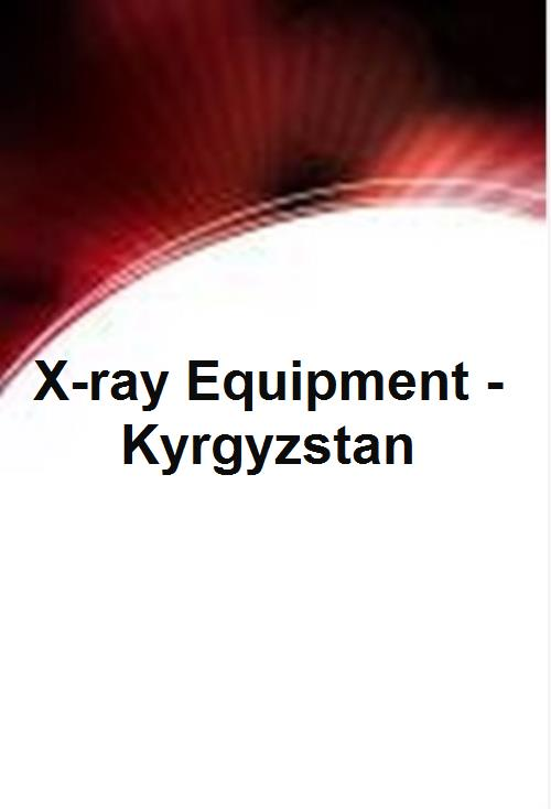 X-ray Equipment - Kyrgyzstan - Product Image