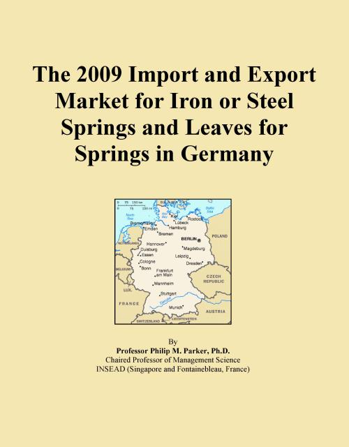 The 2009 Import and Export Market for Iron or Steel Springs and Leaves for Springs in Germany - Product Image