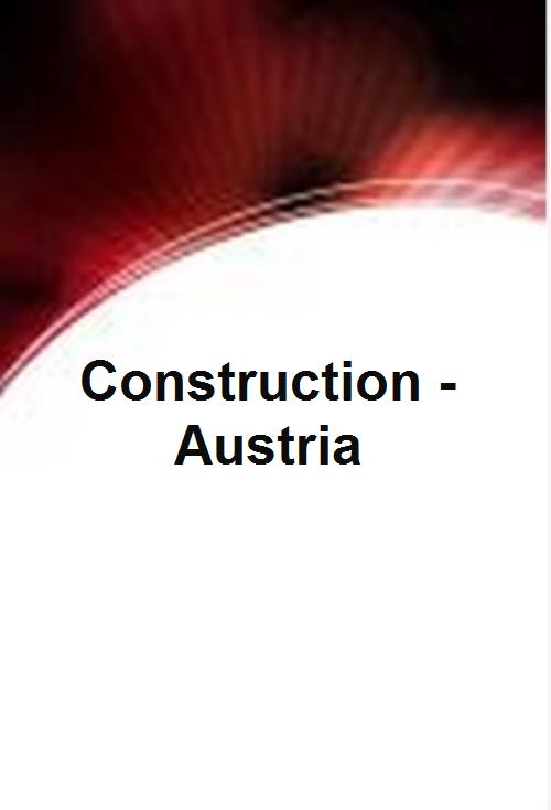 Construction - Austria - Product Image