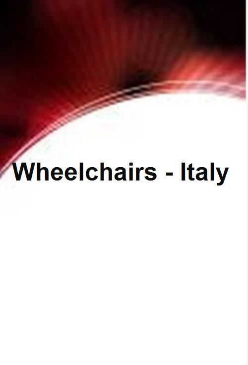 Wheelchairs - Italy - Product Image