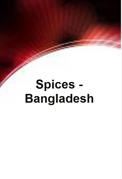 Spices - Bangladesh - Product Image