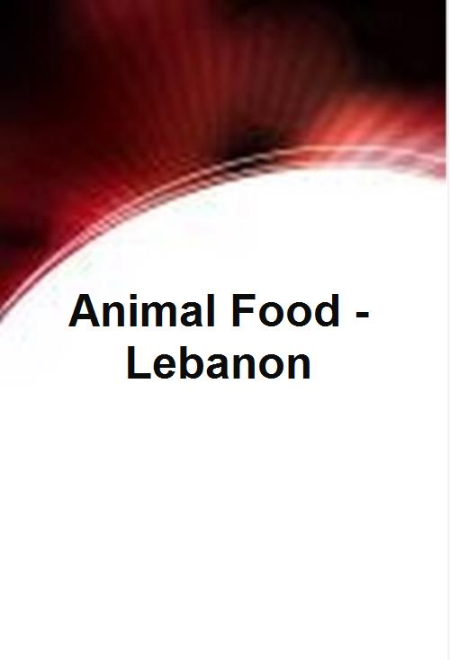Animal Food - Lebanon  - Product Image