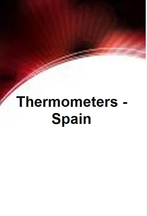 Thermometers - Spain - Product Image