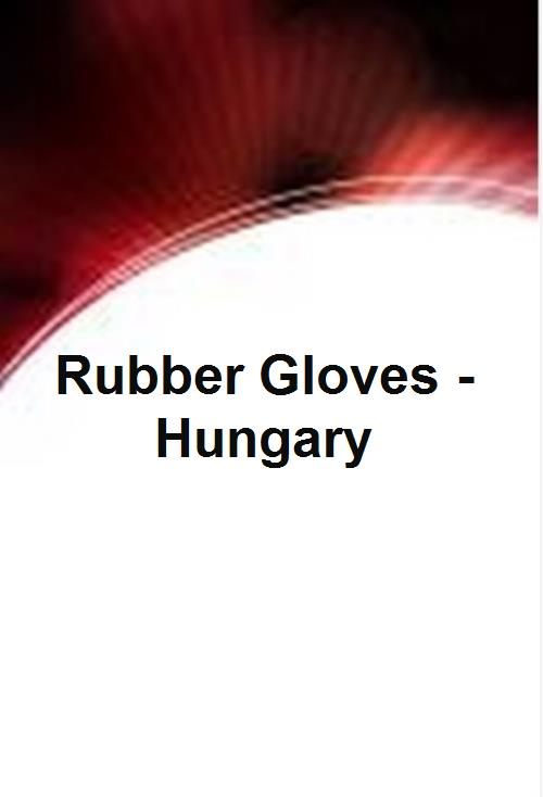 Rubber Gloves - Hungary - Product Image