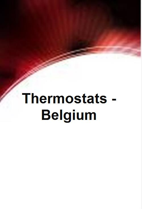 Thermostats - Belgium - Product Image