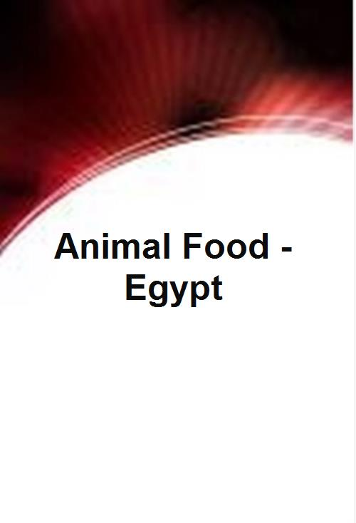 Animal Food - Egypt  - Product Image