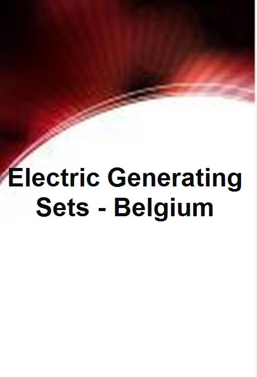 Electric Generating Sets - Belgium - Product Image