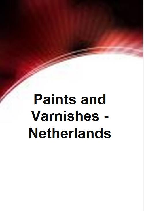 Paints and Varnishes - Netherlands - Product Image